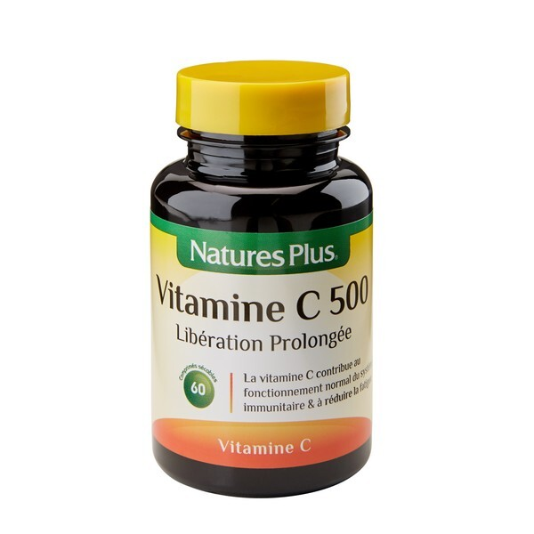 Nature's Plus - Vitamine C 500 LP - 60 comprimés