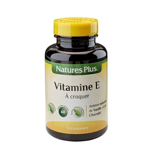 Nature's Plus - Vitamine E Naturelle A Croquer - 60 comprimés