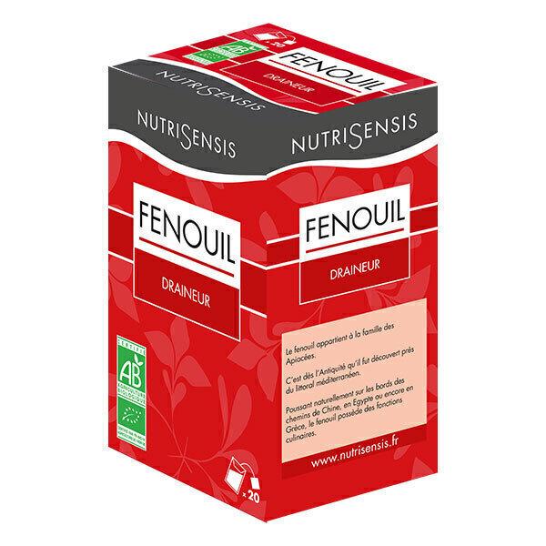 Nutrisensis - Infusion fenouil bio - 20 sachets
