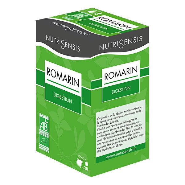Nutrisensis - Infusion romarin bio - 20 sachets