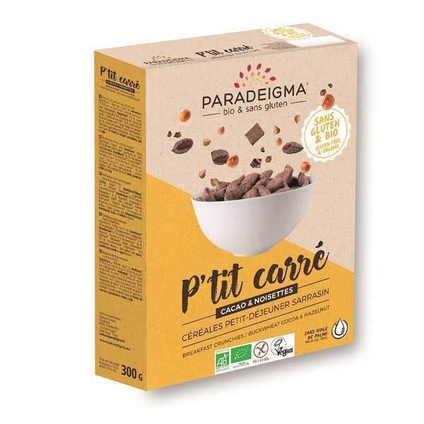 Paradeigma - P'tit Carré choco 300g
