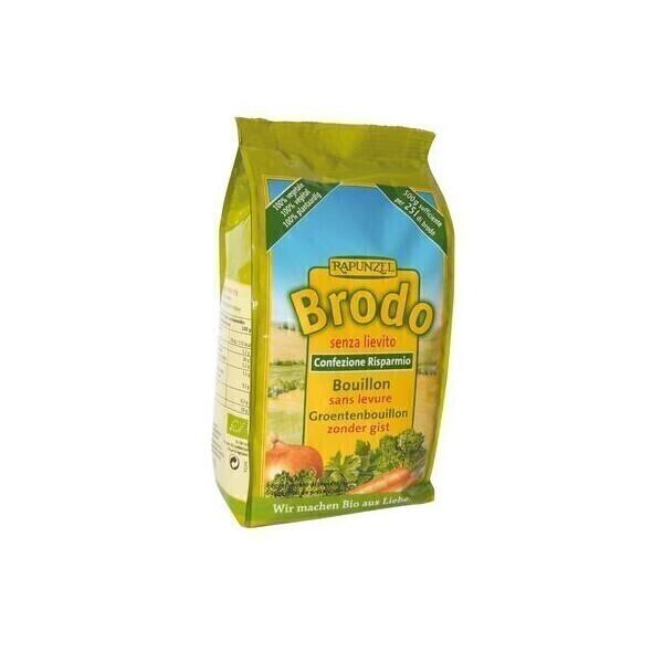 Rapunzel - Recharge bouillon de légumes sans levure Brodo 500g