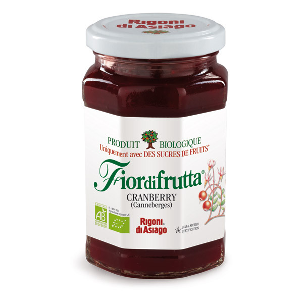 Rigoni Di Asiago - FiordiFrutta Cranberry (Canneberge) 250g