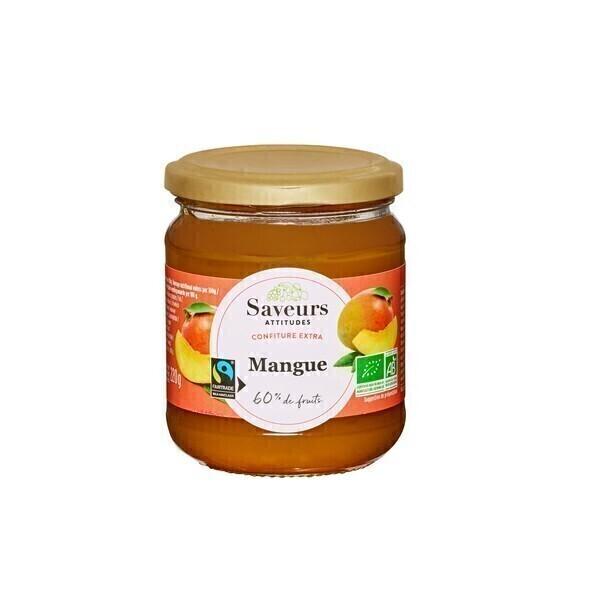 Saveurs Attitudes - Confiture de mangue 220g