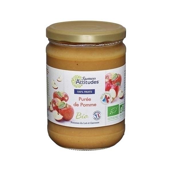 Saveurs Attitudes - Purée de Pomme bio 560g