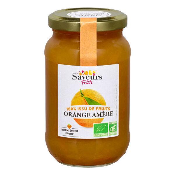 Saveurs & Fruits - Préparation Orange amère bio 310g