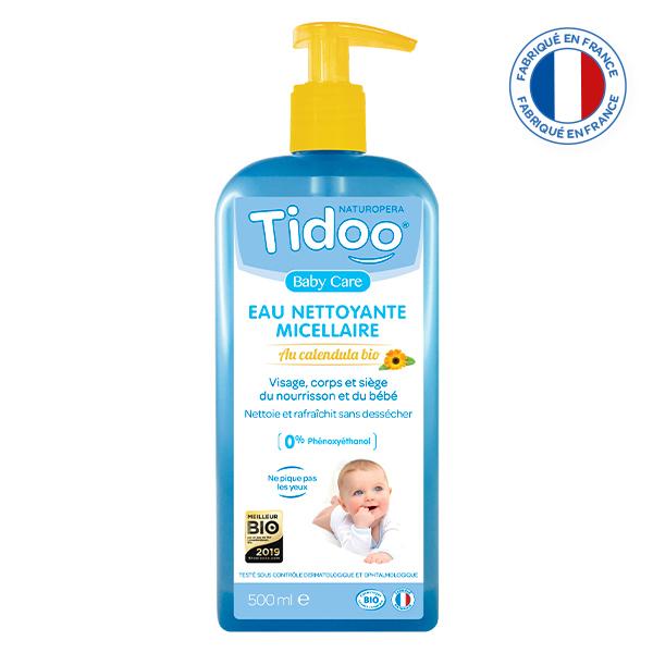 Tidoo - Eau Nettoyante Micellaire Bio au Calendula 500ml
