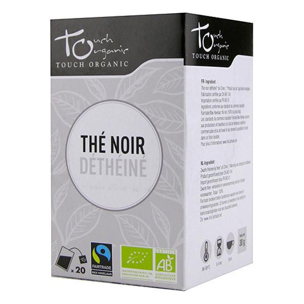 Touch Organic - Thé noir déthéiné bio - 20 sachets