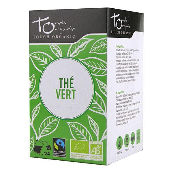 Touch Organic - Thé vert bio - 24 sachets