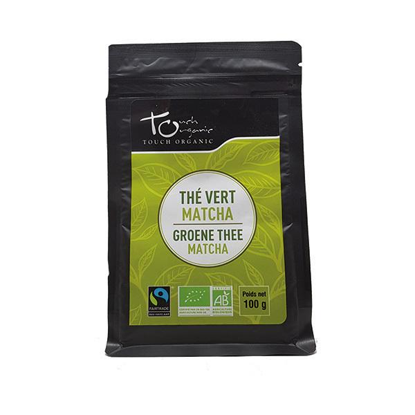 Touch Organic - Thé vert Matcha vrac bio 100g
