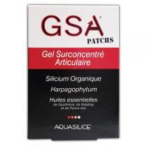 Aquasilice Cosmétique - Patchs (x5) Gel Surconcentré Articulaire