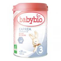 Babybio - Lot de 6 boites Caprea 3 Lait de Croissance au Lait Chèvre Bio