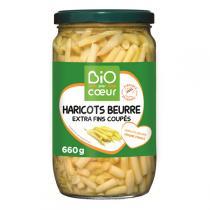 Bio par coeur - Haricots beurre extras fins coupés 660g