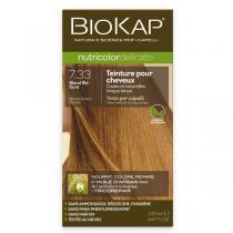 Biokap - Coloration Delicato 7.33 Blond blé Doré 140ml