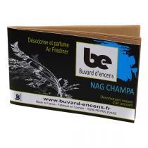 Buvard d'encens - Buvard d'encens Nag Champa 36 papiers