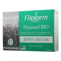 Fitoform - Complément alimentaire Dépuratif 20 x 10ml