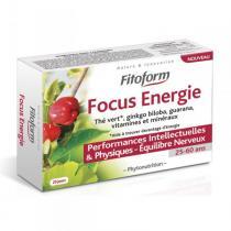 Fitoform - Complément alimentaire Focus Energie 40 cps