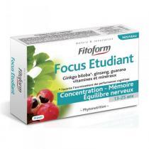 Fitoform - Complément alimentaire Focus Etudiant 40 cps