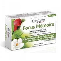 Fitoform - Complément alimentaire Focus Mémoire 30 cps