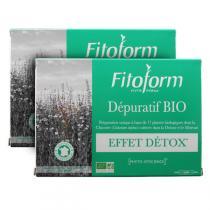 Fitoform - Lot de 2 compléments alimentaires Dépuratif 40 amp