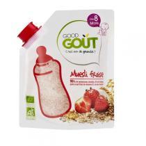 Good Gout - Céréales en poudre muesli fraise 220g - Dès 8 mois