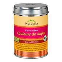 Herbaria - Curry indien bio - Couleurs de Jaipur 80g
