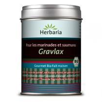 Herbaria - Marinade bio Poisson (gravlax)/Viande/Tofu 100g
