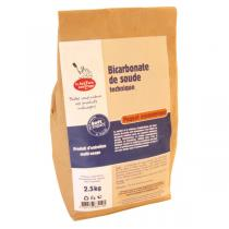 La Droguerie écologique - Lot de 2 - Bicarbonate de Soude technique 2,5kg