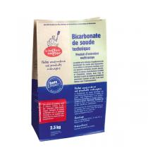 La Droguerie écologique - Lot de 2 - Bicarbonate de Soude technique 2,5kg