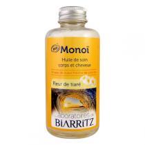 Laboratoires de Biarritz - Monoï Huile soin, fleurs de tiaré 100ml