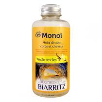 Laboratoires de Biarritz - Huile soin corps/cheveux Monoï, vanille des îles 100ml