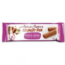Le pain des fleurs - Biscuits crousty roll Cacao Noisette 25g