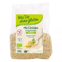 Ma Vie Sans Gluten - Mix céréales & légumineuses au millet 400gr