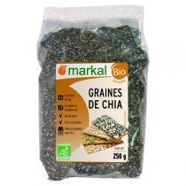 Markal - Lot de 3 - Graines de chia 250g