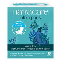 Natracare - Lot de 3 Boites - Serviettes Ultra Super avec Ailettes x12