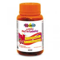 Pediakid - Gommes Multivitaminées 60 oursons