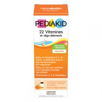 Pediakid - Pediakid® 22Vit./oligo. - Sirop 125ml (abricot/orange)
