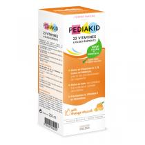 Pediakid - Pediakid 22Vit./oligo. - Sirop 250ml (abricot/orange)