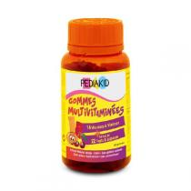 Pediakid - Gummies Multivitaminées - 60 oursons
