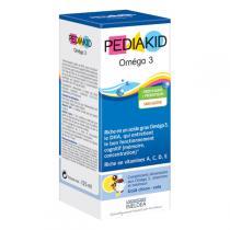 Pediakid - Pediakid® Oméga 3 - Sirop framboise 125ml