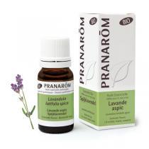 Pranarôm - Huile essentielle lavande aspic bio sommité fleurie 10ml