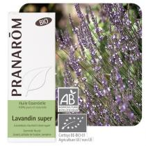 Pranarôm - Huile essentielle lavandin super bio sommité fleurie 10 ml
