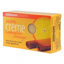 Sodasan - Savon Bio Cannelle-Orange 100g