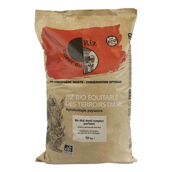 Autour du Riz - Riz thaï 1/2 complet bio 10kg