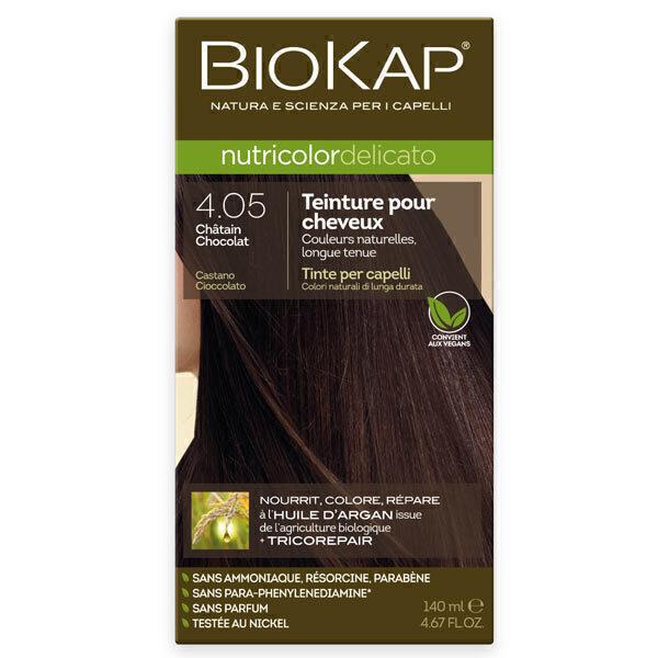 Biokap - Coloration Delicato 4.05 Châtain Chocolat 140ml