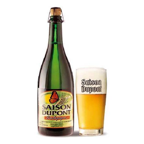 Brasserie Dupont - Bière Bio Saison Dupont 5.5 % vol. 75cl