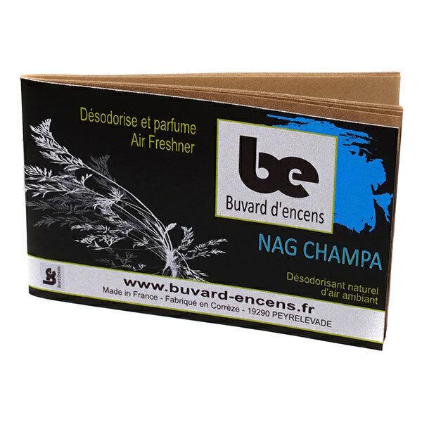 Buvard d'encens - Carnet d'encens Nag Champa x 36 papiers d'encens