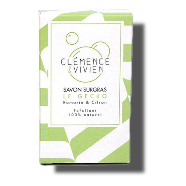 Clémence et Vivien - Savon Surgras exfoliant Le Gecko 100g