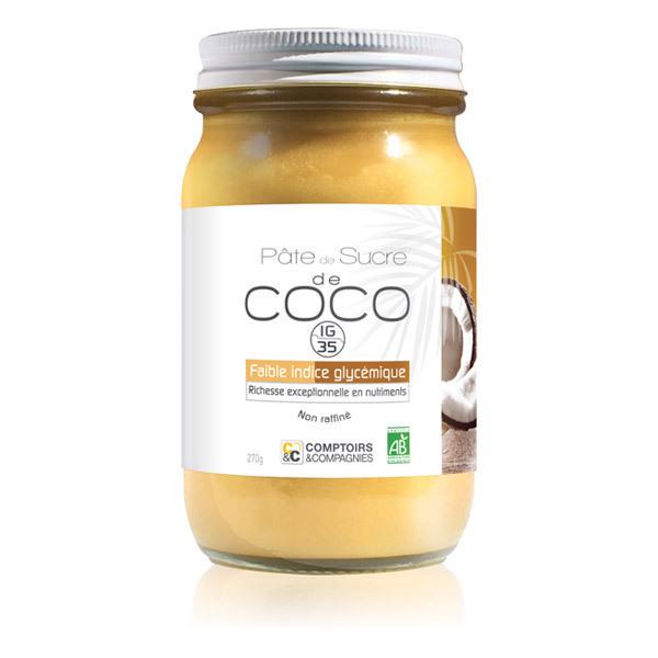 Comptoirs et Compagnies - Pâte de sucre de Coco Bio 270g