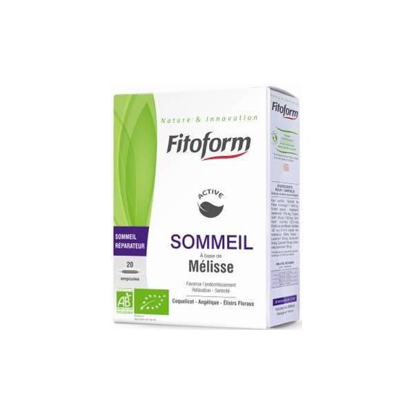 Complément alimentaire Sommeil 20 x 10ml Fitoform